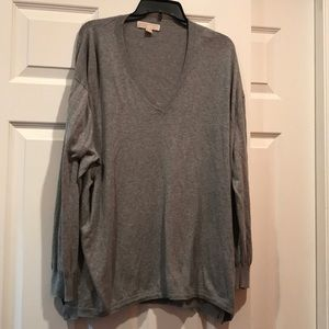 Michael Kors gray thin sweater 3x